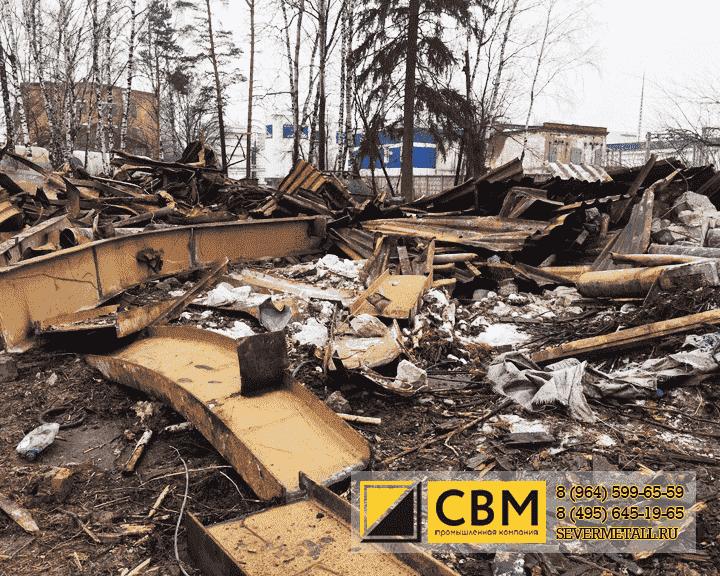 Сдать металлолом дорого прием черных металлов в Бородино